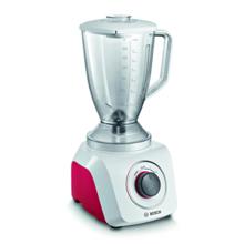 Blender, SmoothieMixx, 500 W, White/Red