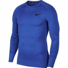 Nike Pro Long-Sleeve Compression Top, Game Royal/Black