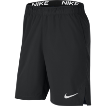 Nike Dri-Fit Flex Woven Galactic Shorts, Obsidian/White
