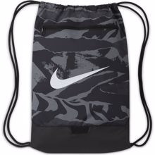 Nike Brasilia Printed Training Gymsack, Black/White