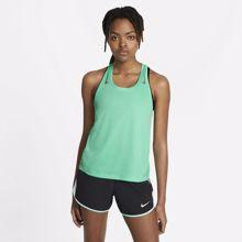 Nike Miler Racer Women's Tank, Green Glow/Reflective Silver