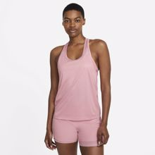 Nike Miler Racer Women's Tank, Pink Glaze/Reflective Silver