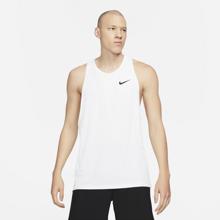Nike Pro Dri-Fit Tank, White/Black