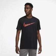 Nike Dri-Fit Graphic Short Sleeve Shirt, Black