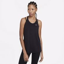 Nike Dri-Fit Women's Elastika Tank, Black/White