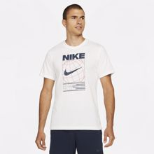 Nike Dri-Fit 6/1 Graphic Short Sleeve Shirt, White