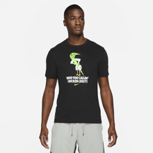 Nike Dri-Fit Training Humor 2 Short Sleeve Shirt, Black