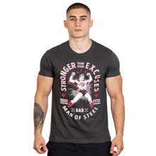 Hero Core T-shirt, Superman Stronger