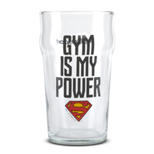 Staklena čaša, Superman - Gym Is My Power
