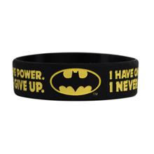 DC Batman, I have one power, I never give up, motivacijska zapestnica