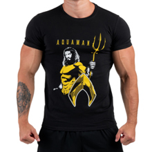 Aquaman, Muscle Fit Tee