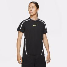 Nike Dri-Fit Sport Clash SS T-Shirt, Black/Volt
