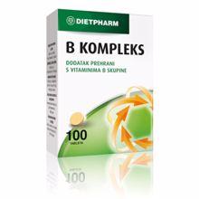 B-kompleks, 100 tableta