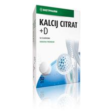 Kalcij Citrat + D, 30 šumećih tableta