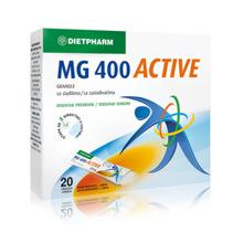 Magnezij MG 400 Active, 20 vrečk