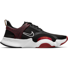 Nike SuperRep GO 2 Training Shoes, Black/White/Dark Cayenne/Solar Flare