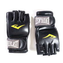 Everlast Unisex Training Gloves, Black