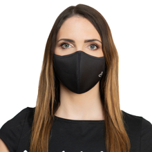 Zoe Face Mask, Black