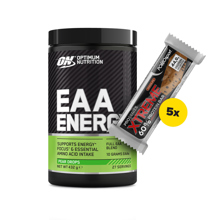 EAA Energy, 432 g + 5x Xtreme 60% Protein Bar, 75 g GRATIS