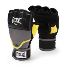 Evergel Weighted Hand Wraps Handschuh, schwarz/gelb