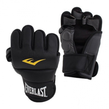Everlast Matte PU MMA Gloves, Black