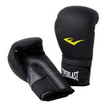 Everlast Matte PU Boxing Gloves, Black