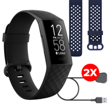 Fitbit Charge 4, Black, Limited Edition Bundle