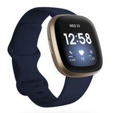 Fitbit Versa 3, Midnight/Soft Gold
