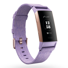 Fitbit Charge 3, Special Edition, Lavender Woven