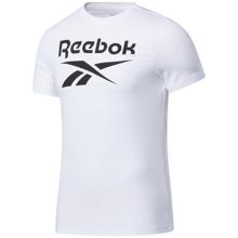 Reebok Graphic Series Big Logo SS Shirt, White