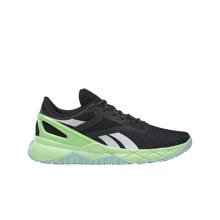 Reebok NanoFlex TR Women's Shoes, Black/Digital Glow/Neon Mint