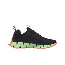 Reebok Zig Dynamica Shoes, Black/Neon Mint/Orange Flare