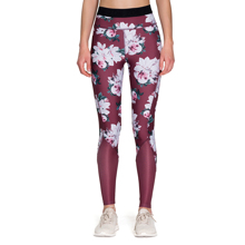 Gardenia Leggings, Red Wine