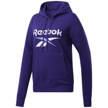 Reebok Identity Logo French Terry Women's Hoodie, Dark Orchid