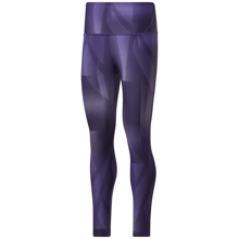 Reebok Lux Bold High-Rise Vector Block Tights, Dark Orchid