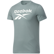 Reebok Graphic Series Big Logo SS Shirt, Harmony Green