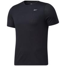 Reebok Run Essentials Speedwick Graphic Short Sleeve Shirt, Black