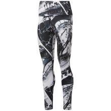 Reebok Workout Printed Ready Women's Leggings, Black