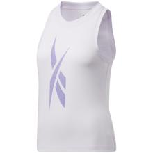 Reebok Workout Ready Women's Supremium Big Logo Tank Top, Luminous Lilac