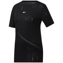 Reebok Burnout Women's Short Sleeve Shirt, Black