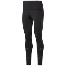 Reebok High-Rise Lux Perform Perforated Leggings, Black