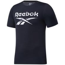 Reebok Workout Ready Activchill Graphic SS Shirt, Black