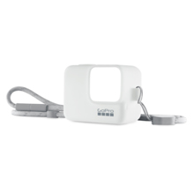 GoPro Sleeve + Lanyard, White