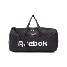 Reebok Active Core Grip Medium Duffel Bag, Black/Black