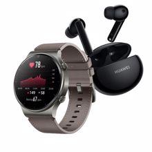 Huawei Watch GT 2 Pro, Nebula Gray + Huawei FreeBuds 4i, Black