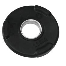 Gumirani olimpijski disk uteg, 50 mm, 1,25 kg