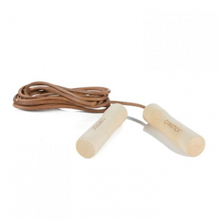 Leather Jump Rope - Wood