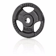 Železna disk utež 30mm, 2,5 kg