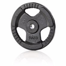 Železna disk utež 30mm, 10 kg