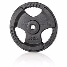 Železna disk utež 30mm, 15 kg